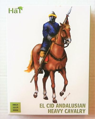 HAT INDUSTRIES 28mm 28019 EL CID ANDALUSIAN HEAVY CAVALRY