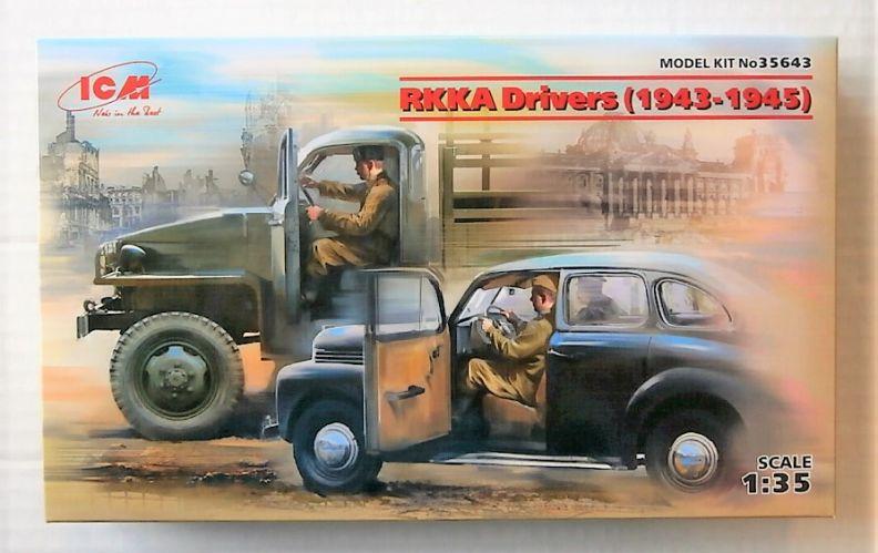 ICM 1/35 35643 RKKA DRIVERS  1943-1945