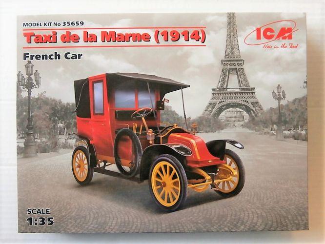 ICM 1/35 35659 TAXI DE LA MARNE  1914