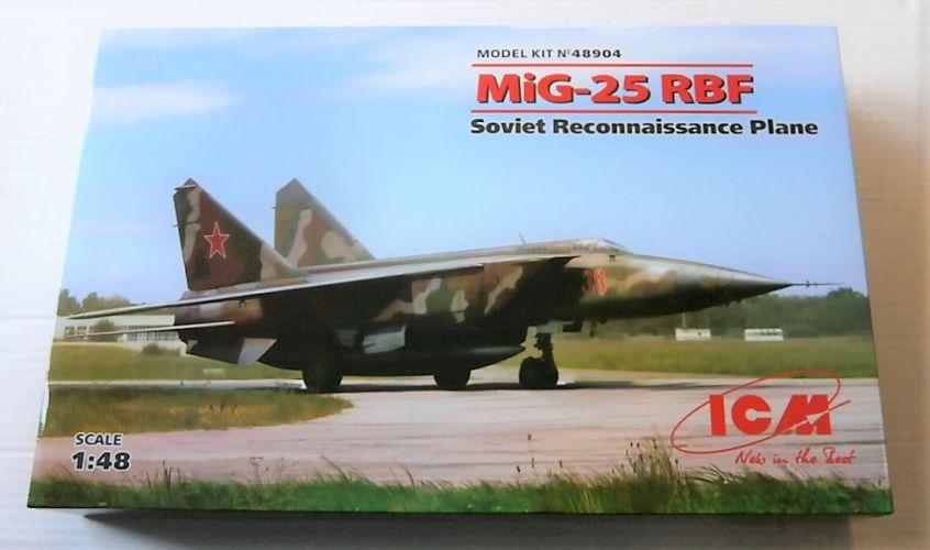 ICM 1/48 48904 MIG-25 RBF