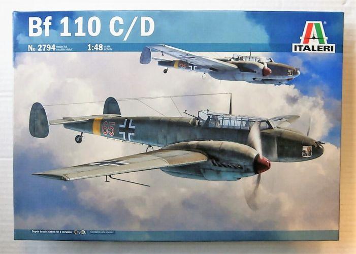 ITALERI 1/48 2794 MESSERSCHMITT BF-110 C/D