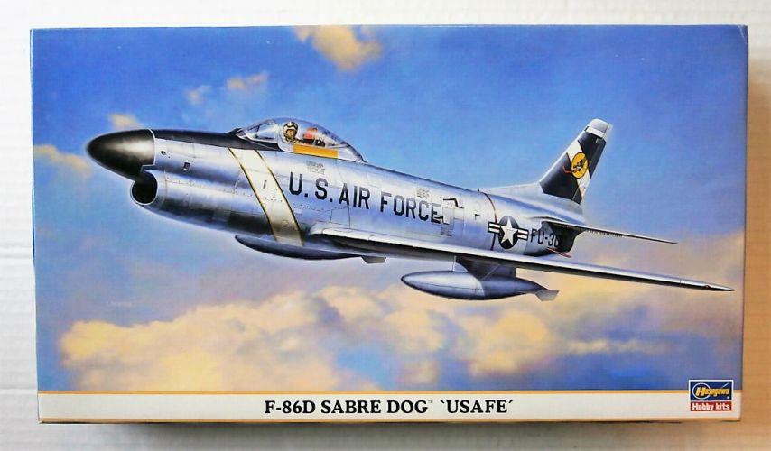 HASEGAWA 1/72 00751 F-86D SABRE DOG USAFE