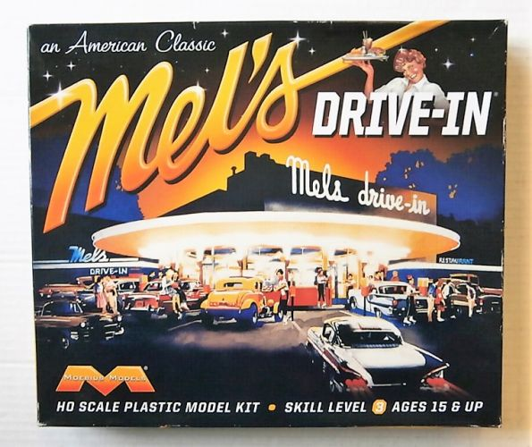 MOEBIUS HO 935 MELS DRIVE-IN - AN AMERICAN CLASSIC