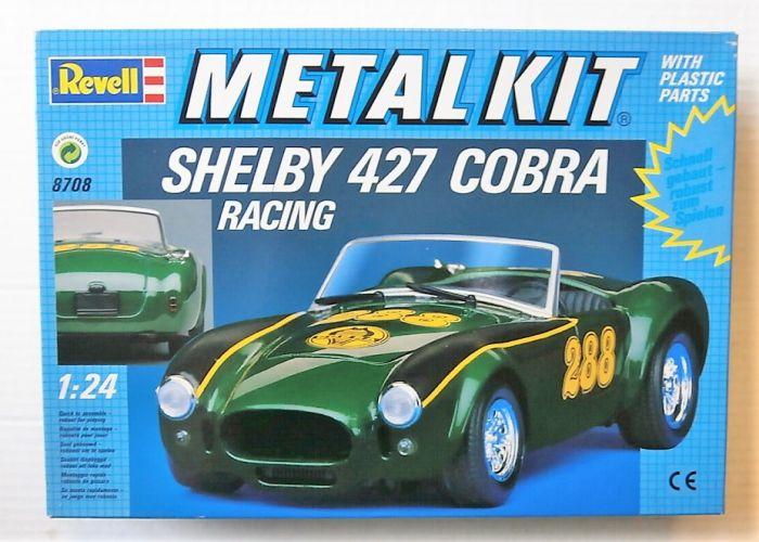 REVELL 1/24 8708 SHELBY 427 COBRA RACING METAL KIT