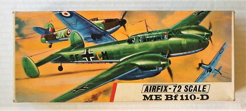 AIRFIX 1/72 286 MESSERSCHMITT BF 110-D