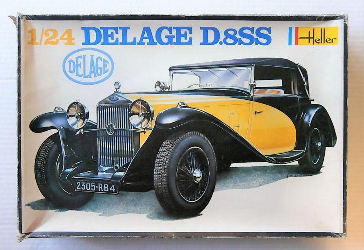 HELLER 1/24 720 DELAGE D.8SS