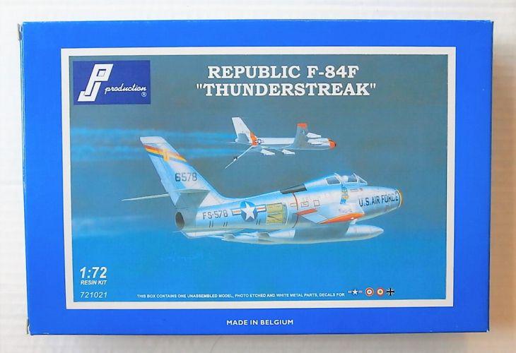 PJ PRODUCTIONS 1/72 721021 F-84F THUNDERSTREAK