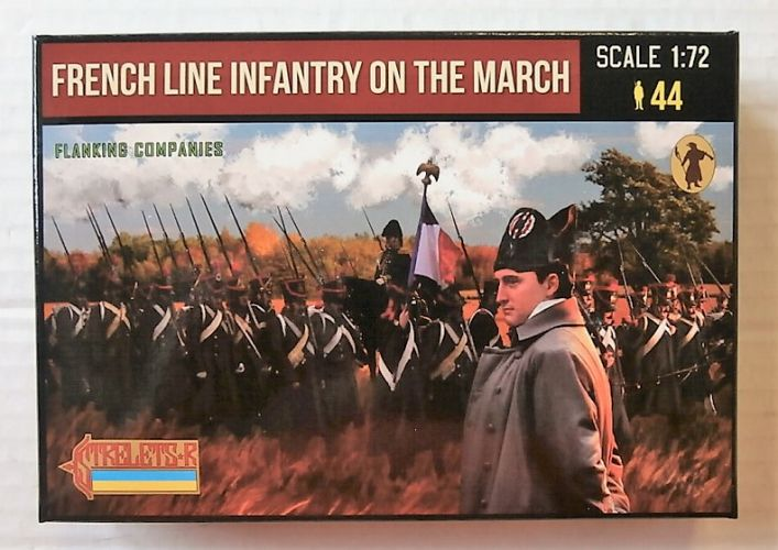 STRELETS 1/72 173 FRENCH LINE INFANTRY ON THE MARCH