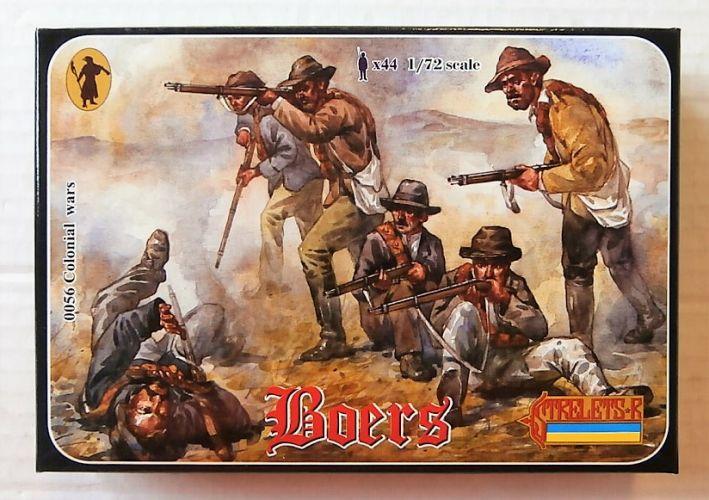 STRELETS 1/72 0056 BOERS ANGLO/ BOER WAR