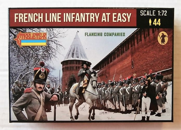 STRELETS 1/72 225 FRENCH LINE INFANTRY AT EASE IN WINTER DRESS