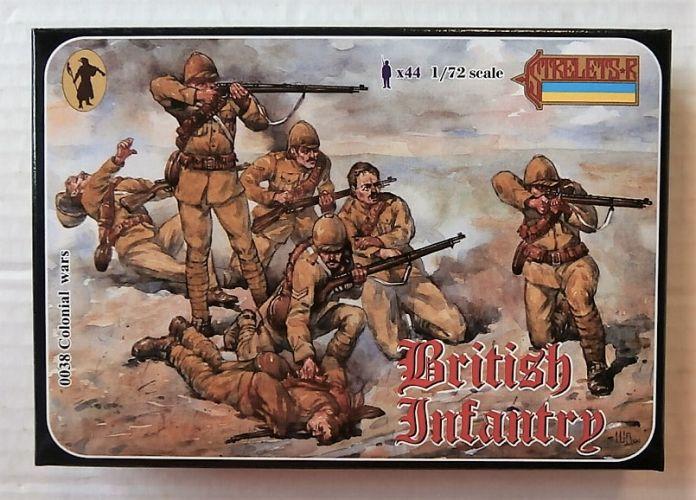 STRELETS 1/72 0038 BRITISH INFANTRY ANGLO/ BOER WAR