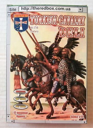 ORION 1/72 72055 TURKISH CAVALRY DELI 16TH-17TH CENTURY