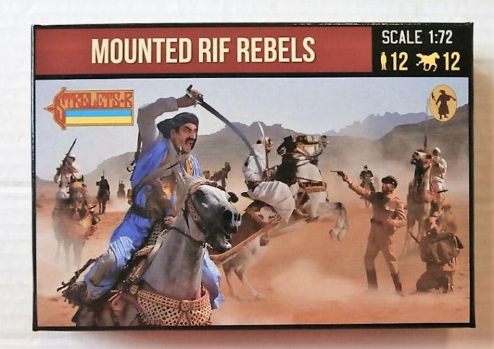 STRELETS 1/72 190 MOUNTED RIF REBELS