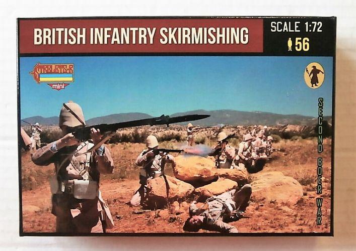 STRELETS 1/72 M133 BRITISH INFANTRY SKIRMISHING