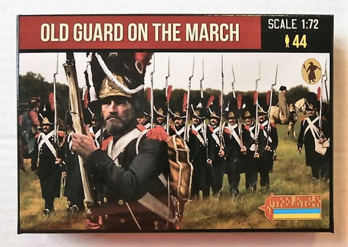 STRELETS 1/72 181 OLD GUARD ON THE MARCH