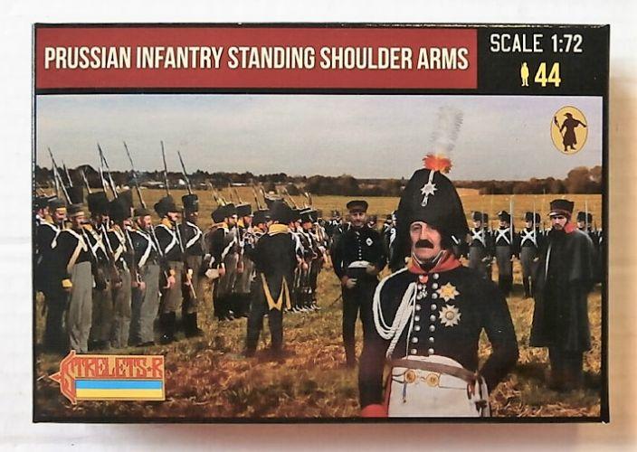 STRELETS 1/72 180 PRUSSIAN INFANTRY STANDING SHOULDER ARMS