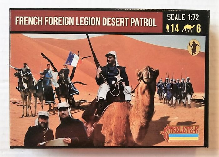 STRELETS 1/72 192 FRENCH FOREIGN LEGION DESERT PATROL