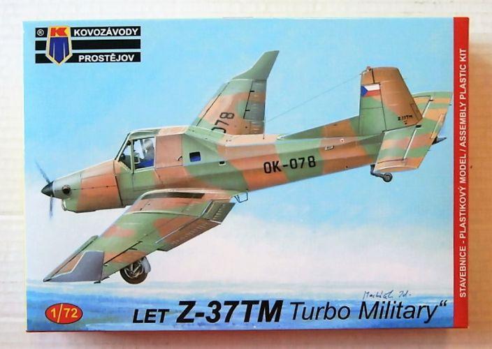 KP 1/72 0146 LET Z-37TM TURBO MILITARY