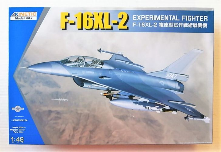 KINETIC 1/48 48086 GENERAL DYNAMICS F-16XL-2 EXPERIMENTAL FIGHTER