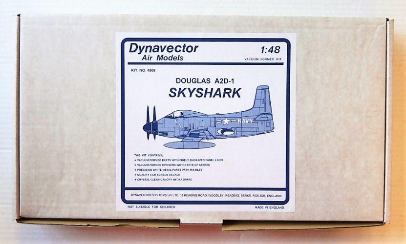 DYNAVECTOR 1/48 DOUGLAS A2D-1 SKYSHARK