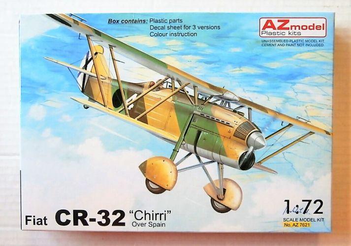 AZ MODEL 1/72 7621 FIAT CR-32 CHIRRI OVER SPAIN