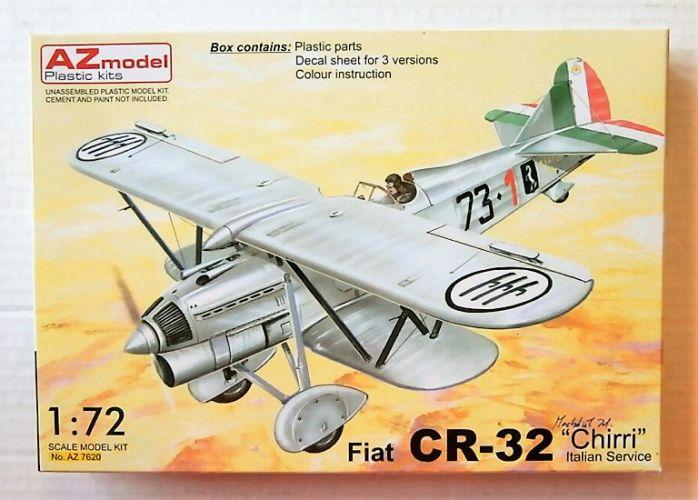 AZ MODEL 1/72 7620 FIAT CR-32 CHIRRI ITALIAN SERVICE