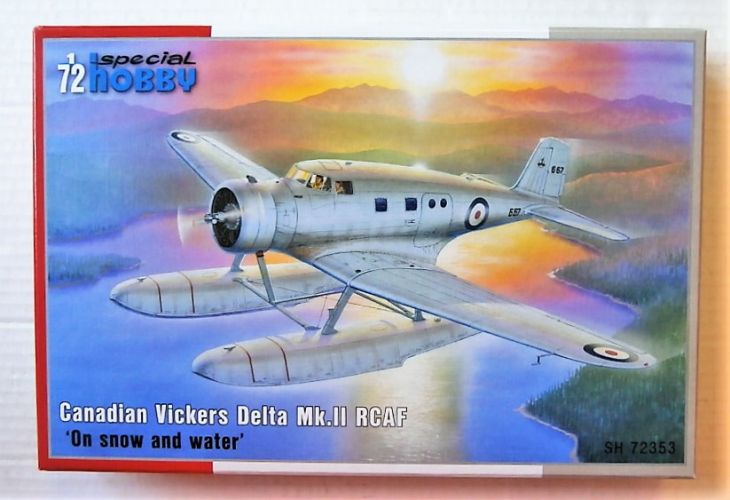 SPECIAL HOBBY 1/72 72353 CANADIAN VICKERS DELTA MK.II RCAF ON SNOW AND WATER