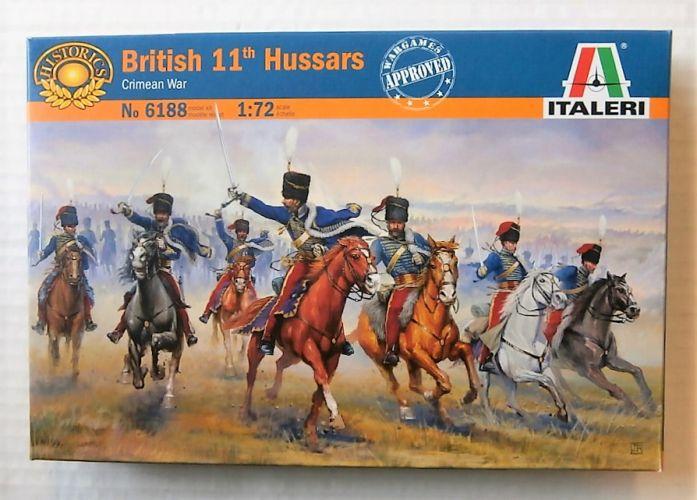 ITALERI 1/72 6188 BRITISH 11th HUSSARS