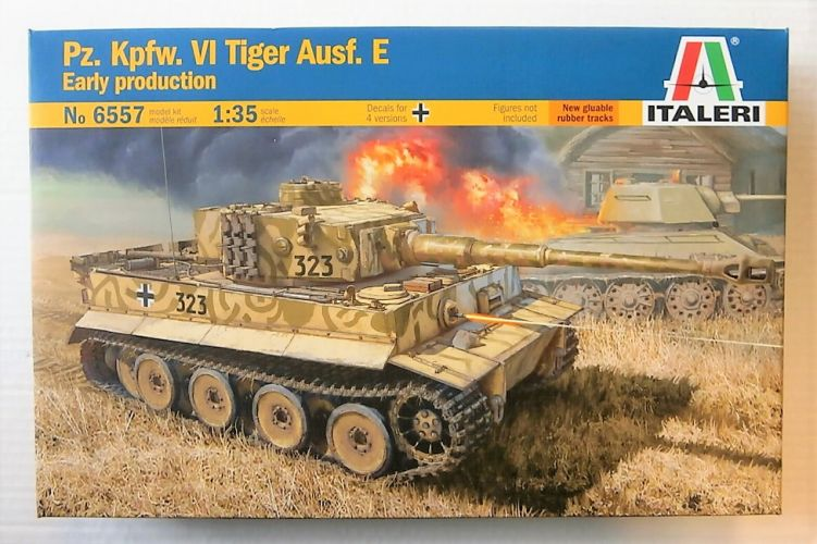 ITALERI 1/35 6557 PZ.KPFW.VI TIGER AUSF.E EARLY PRODUCTION