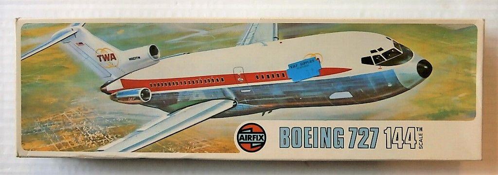 AIRFIX 1/144 03173 BOEING 727 TWA