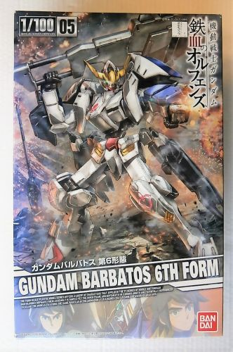 BANDAI 1/100 0207323 GUNDAM BARBATOS 6TH FORM
