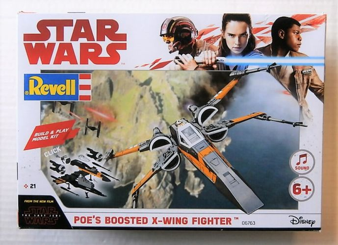 REVELL  06763 POES BOOSTED X-WING FIGHTER