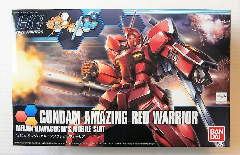 BANDAI 1/144 0194872 GUNDAM AMAZING RED WARRIOR