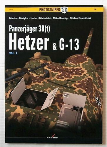 CHEAP BOOKS  ZB3135 PHOTOSNIPER 3D No 14 - PANZERJAGER 38 t  HETZER AND G-13