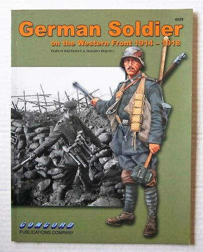 CHEAP BOOKS  ZB3128 GERMAN SOLDIER ON THE WESTERN FRONT 1914-1918