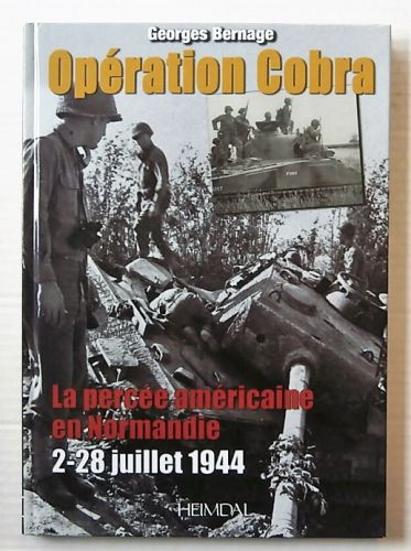 CHEAP BOOKS  ZB3127 OPERATION COBRA - GEORGES BERNAGE  FRENCH TEXT