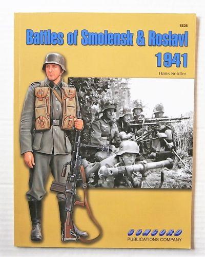 CHEAP BOOKS  ZB3125 BATTLES OF SMOLENSK AND ROSLAVL 1941 - HANS SEIDLER