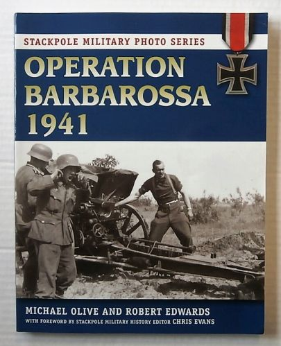 CHEAP BOOKS  ZB3123 OPERATION BARBAROSSA 1941 - MICHAEL OLIVE AND ROBERT EDWARDS