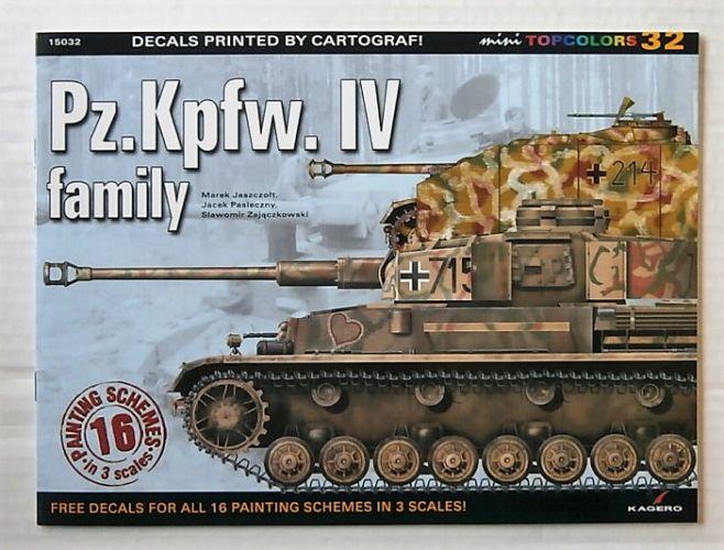CHEAP BOOKS  ZB3120 KAGERO 32 - Pz.Kpfw. IV FAMILY