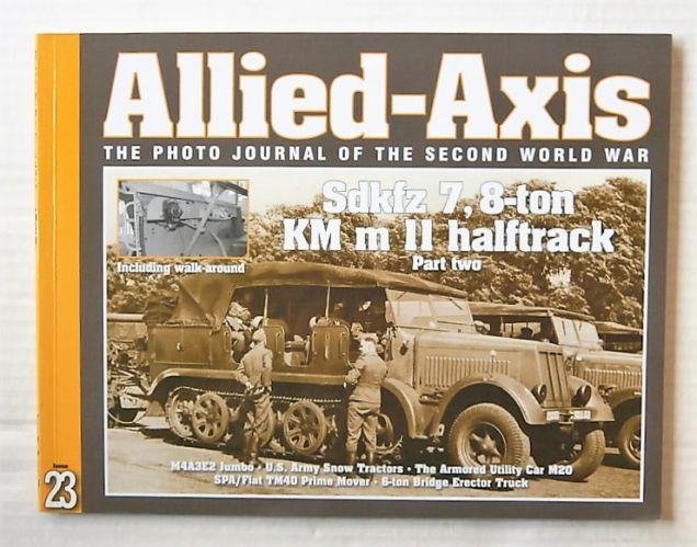 CHEAP BOOKS  ZB3119 ALLIED AXIS - ISSUE 23