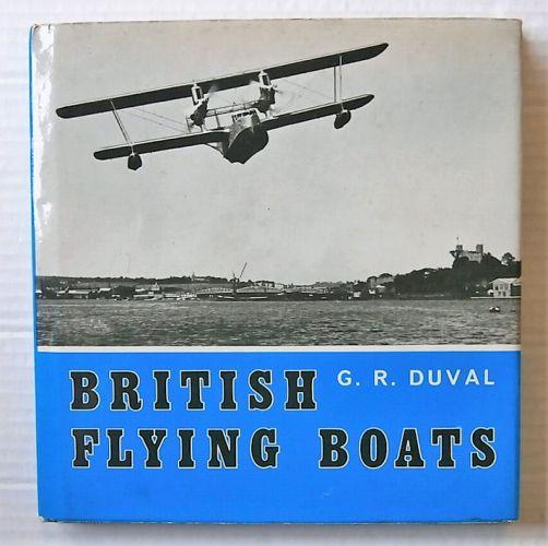 CHEAP BOOKS  ZB3110 BRITISH FLYING BOATS - G R DUVAL
