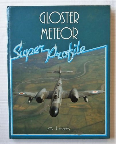 CHEAP BOOKS  ZB3092 SUPER PROFILE - GLOSTER METEOR - M J HARDY