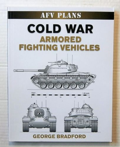 CHEAP BOOKS  ZB1468 AFV PLANS COLD WAR ARMORED FIGHTING VEHICLES