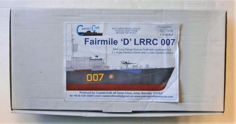 COASTAL KITS 1/72 72009 FAIRMILE D LRRC 007