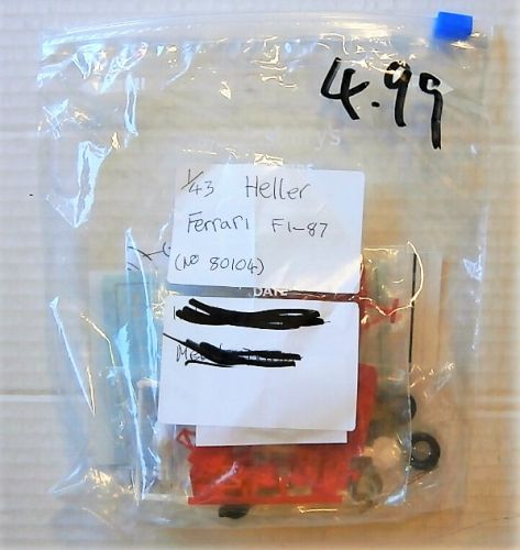 HELLER 1/43 BK233 80104 FERRARI FI-87  NO BOX