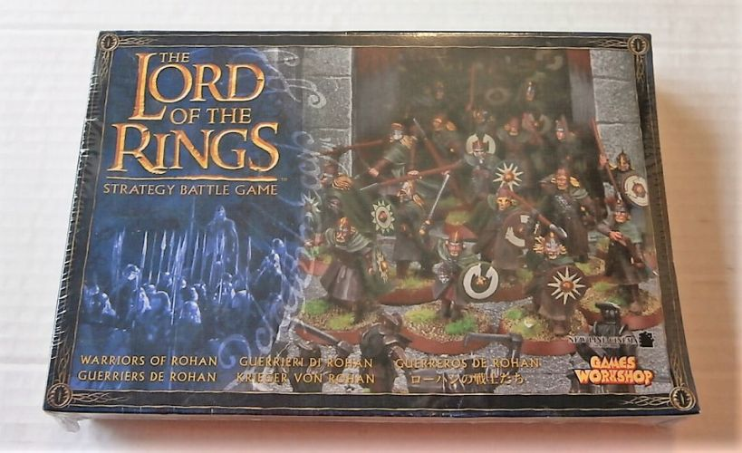 GAMES WORKSHOP  LORD OF THE RINGS WARRIORS OF ROHAN