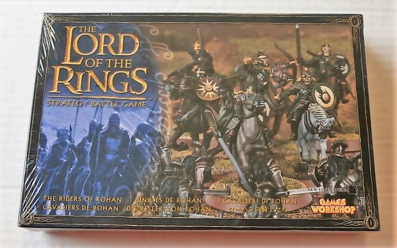 GAMES WORKSHOP  LORD OF THE RINGS THE RIDERS OF ROHAN