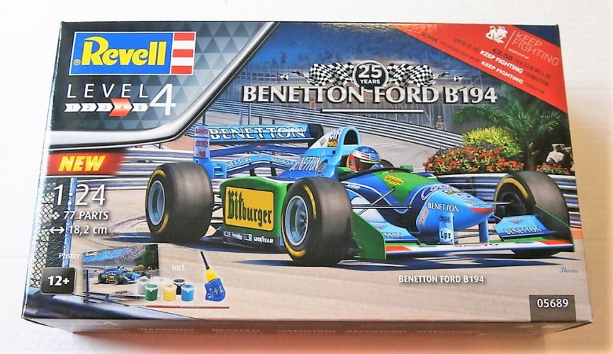 REVELL 1/24 05689 25 YEARS BENETTON FORD B194