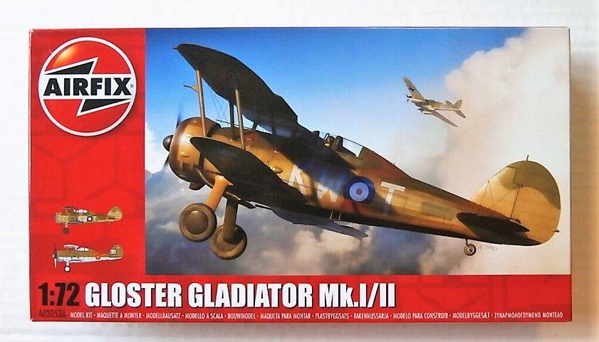 AIRFIX 1/72 02052A GLOSTER GLADIATOR Mk.I/II