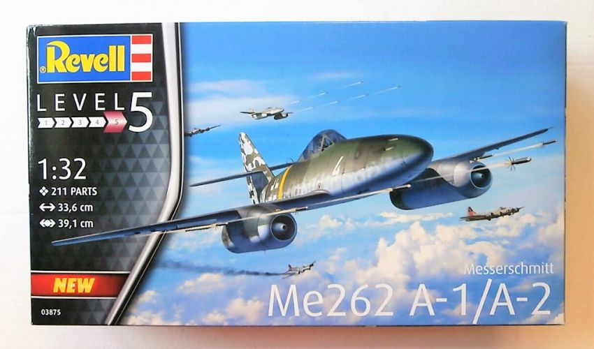 REVELL 1/32 03875 Me262 A-1/A-2